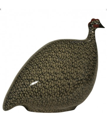 Guinea Fowl Black Grey