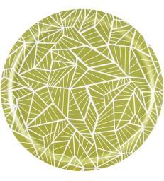 Birch Trays - Wings Lemongrass Green