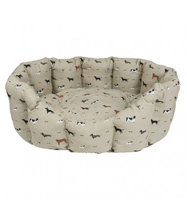 Woof Dog Bed - Small and Medium