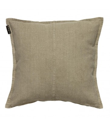Beige Stone Washed Linen WEST Cushion