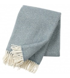 Lead Grey SAMBA Lambs Wool Throw
