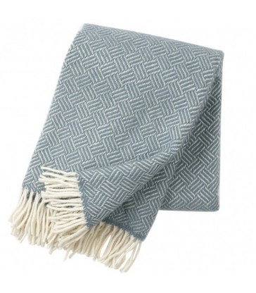 SAMBA Lead Grey Lambs Wool Throw