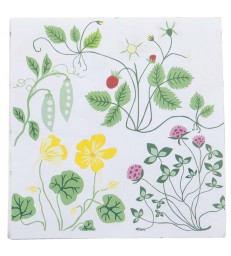 Swedish FLowers Paper Napkins