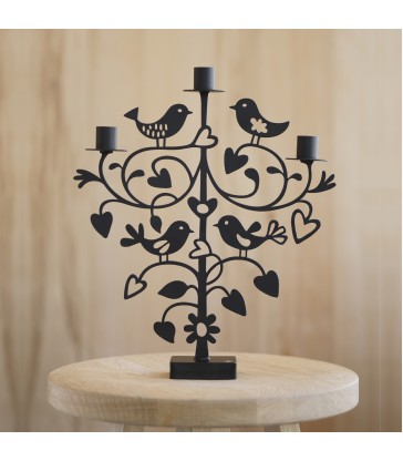 lovebirds candlestick romantic gift for home wedding gifts