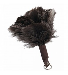 Ostrich Feather Key Fob