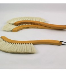 Sickle Shaped Goats Hair Brush