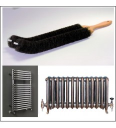 Bathroom radiator & Towel Rail Brush