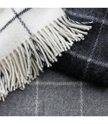 classic grey wool throws