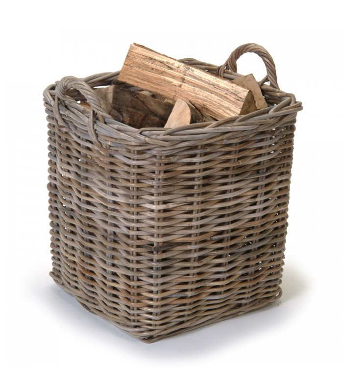 Log Baskets Square