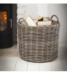 Log Basket - Giant Round
