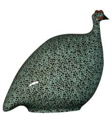 Guinea Fowl Turquoise Black