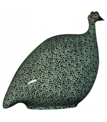 Turquoise ceramic guine fowl gifts for your home
