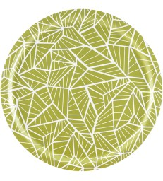 Birch Trays - Wings Lemongrass Green