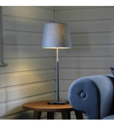 Table Lamp - Dark Grey Adjustable Height