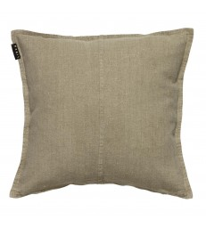 Beige Stone Washed Linen WEST Cushion