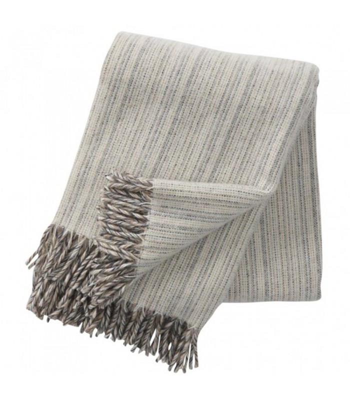 Natural BJORK Wool Throw housewarming gifts