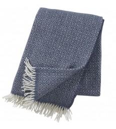 Smokey Blue Stella Wool Throw