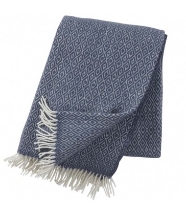 smokey blue wool throw wedding gifts