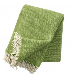 Lime Green Stella Wool Throw