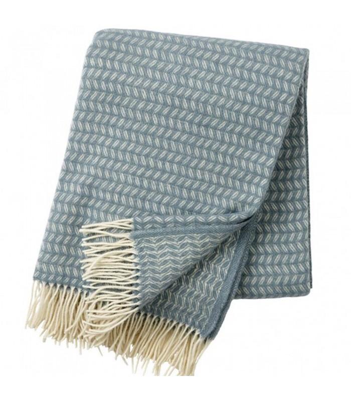lead grey luxury merino and wool throw