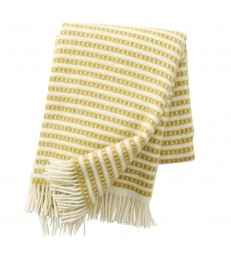 Saffron Yellow OLLE Wool Throw