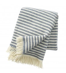 Smokey Blue OLLE Wool Throw