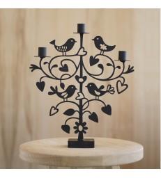Lovebirds Modern Candelabra Candleholder