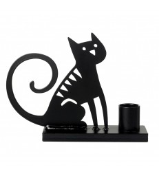 Sitting Cat Candle Holder