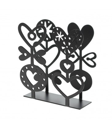 Hearts Design Paper Napkin Holder