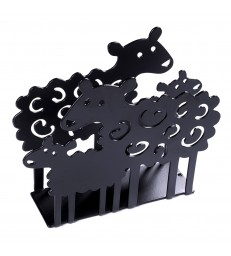 Sheep and Lamb Napkin Holder