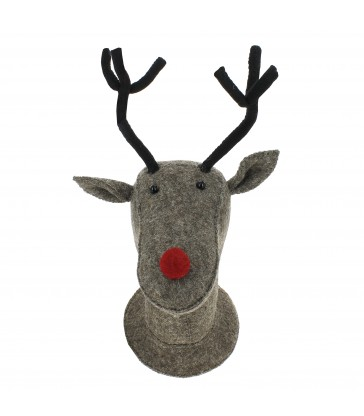 Rudolf door / wall decoration Brown