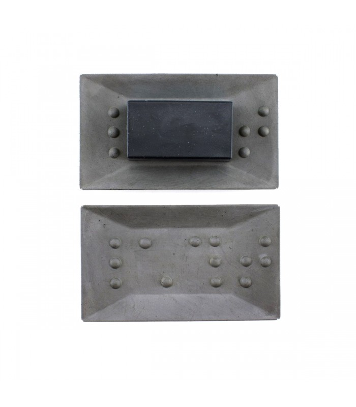 Concrete bathroom accessories. Modern home gifts