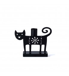 Cat Candlestick Holder