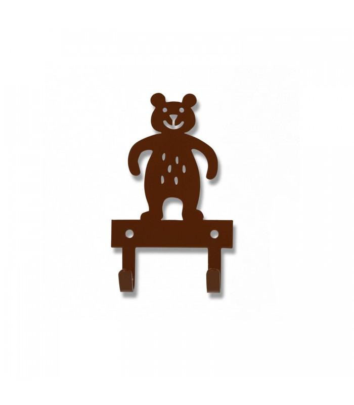 nursery decor brown bear hanger door hanger