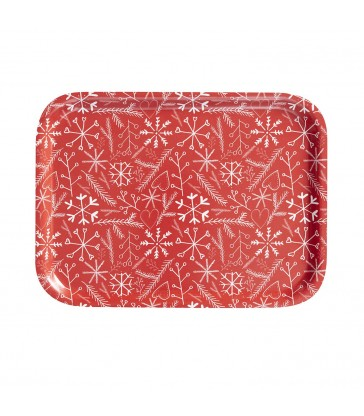 swedish sandwich tray Christmas design pattern