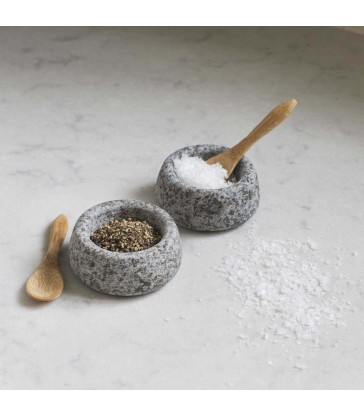 granite salt and peper bowls house gifts for the modern home
