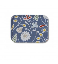 Blue Meadow Flowers Tray