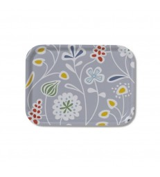 Grey Meadow Flowers Tray