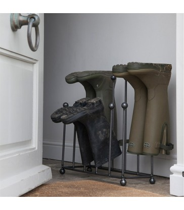 steel welly stand practical home storage from the blue door. Wellington boot storage
