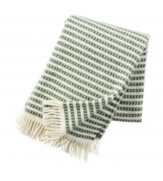 Green OLLE Wool Throw