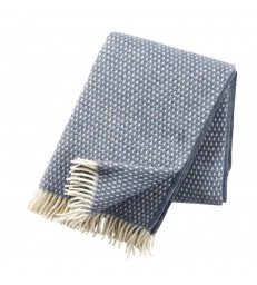Smokey Blue KNUT Wool Throw