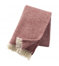 Rose Brown KNUT Wool Throw