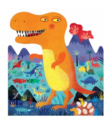 my t rex dinosuar jigsaw puzzle christmas gifts for children