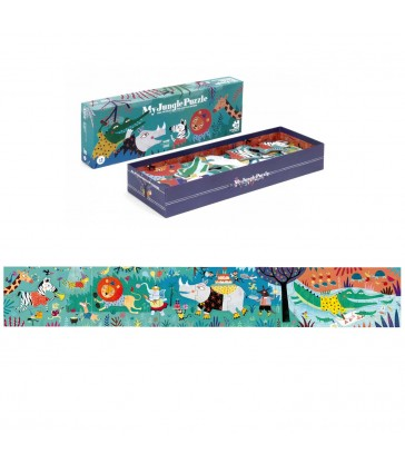 my jungle childrens animal themed jigsaw puzzle