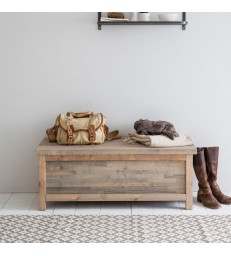 Hallway Storage Bench in Spruce