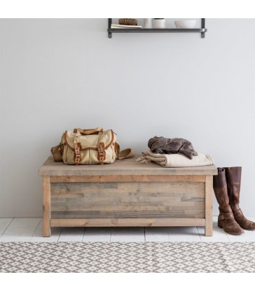 hallway box bench in spruce