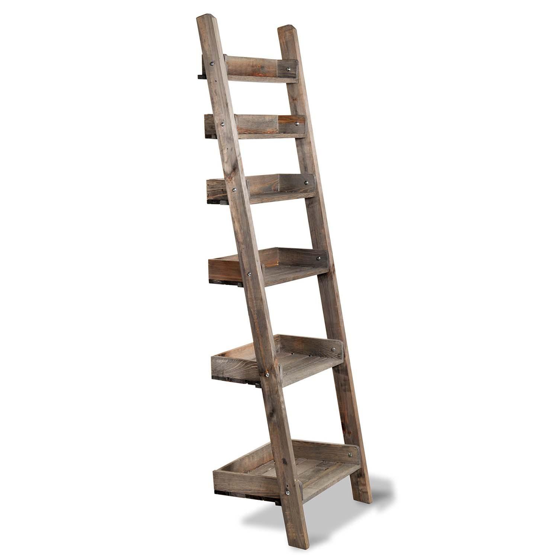 Outdoor Folding Shelf Ladder Narrow The Blue Door