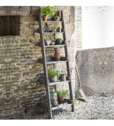 Outdoor Folding Shelf Ladder - Narrow