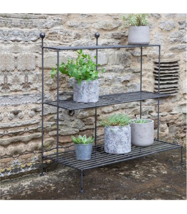 steel metal plant stand elegant garden display