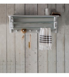 Extendable Timber Clothes Dryer - Wall Mounted
